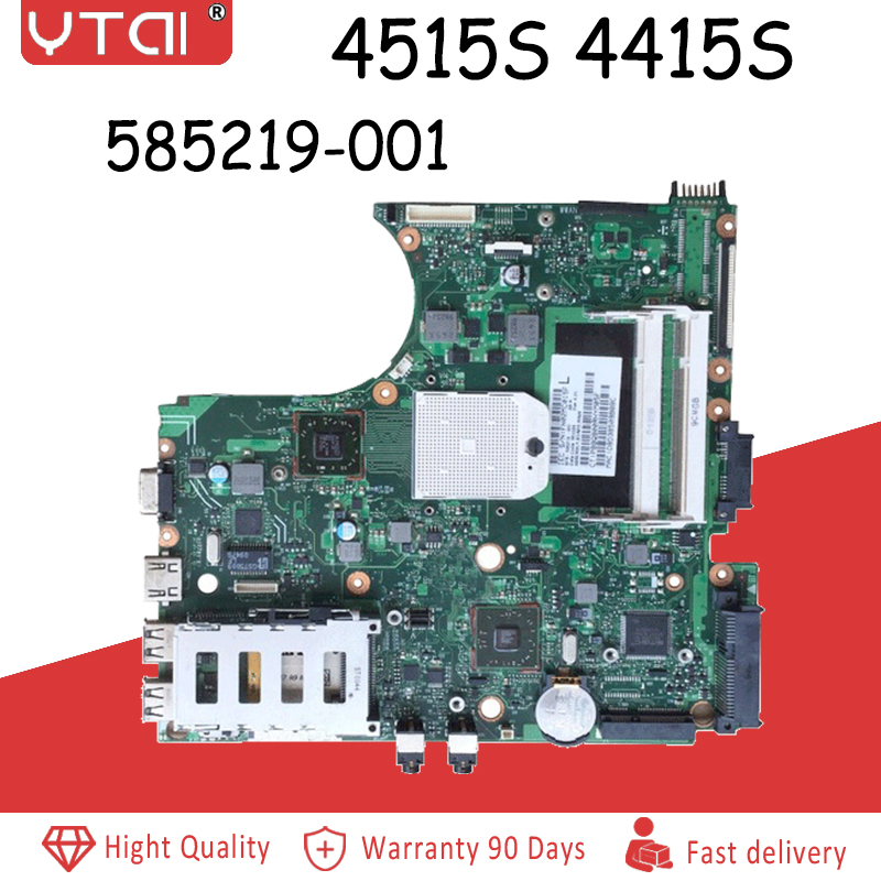 4515S motherboard  585219-001 board for HP 4515S 4415S Laptop motherboard Fully Test4515S motherboard  585219-001 board for HP 4515S 4415S Laptop motherboard Fully Test