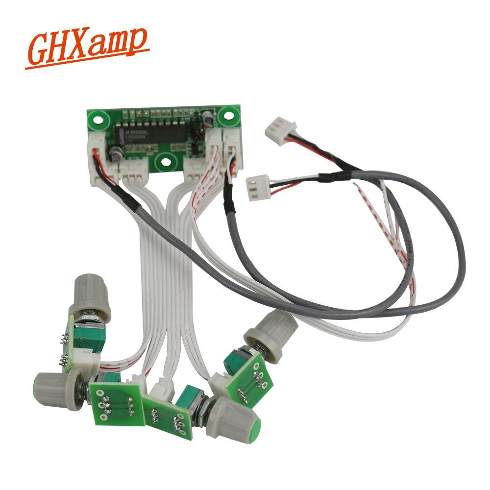 Ghxamp Préamplificateur LM1036N Tone Audio conseil Mini Basse Aigus Réglage Du Volume Conseil AMP DIY DC10-27V