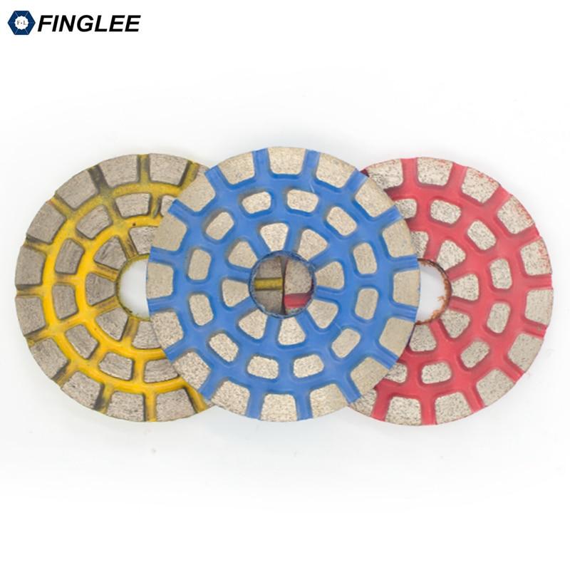 FINGLEE 3 colių / 4 colių metalinių obligacijų granito poliravimo - Elektriniai įrankiai - Nuotrauka 4