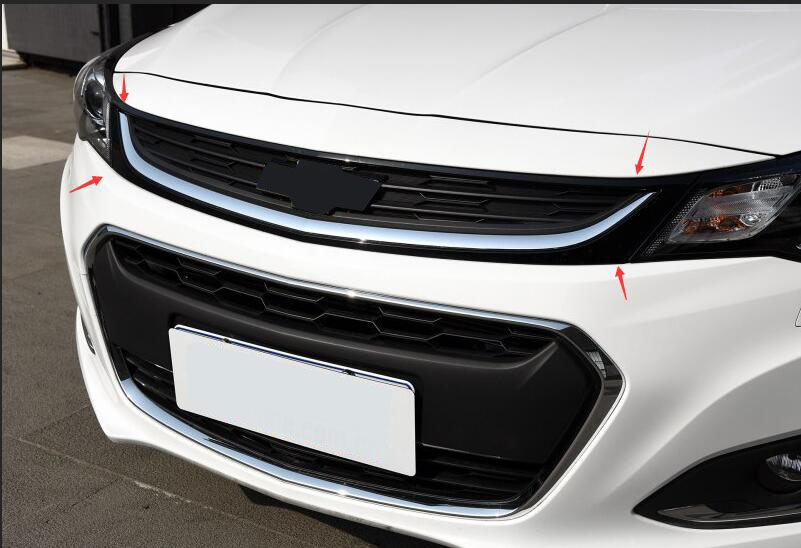 For Chevrolet Malibu 2016 2017 Front grill grille grid insert grid