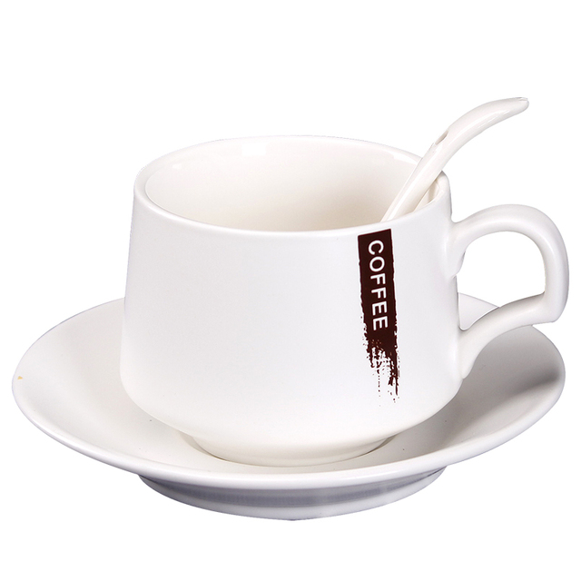 Aliexpress Com Buy Simple Bone China Espresso Cappuccino