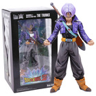 Dragon Ball Z MSP Master Stars Piece The Trunks Manga Dimensions PVC Figure Collectible Model Toy 24cm