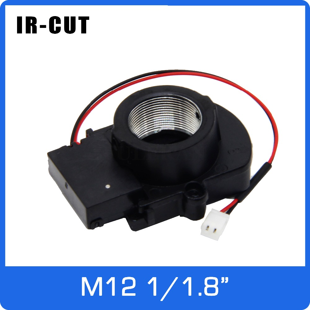 IR CUT 1/1.8 inch ICR with M12 Mount Holder be Suitable For IMX178/185/385 Dual Filters Day and Nigh Auto Switch on CCTV Camera