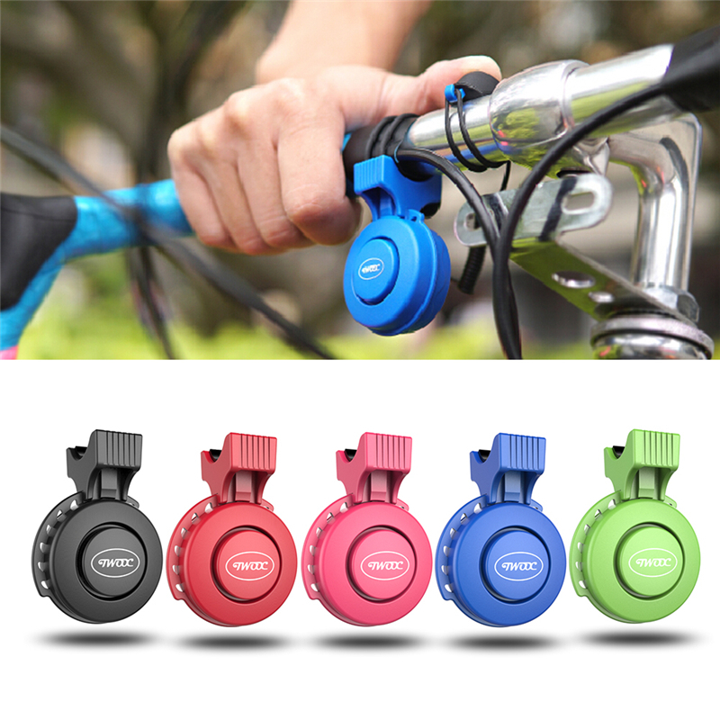 USB Rechargeable Electronic Bicycle Bell Bike Bell Ring <font><b>Horn</b></font> Electric Cycling Bell