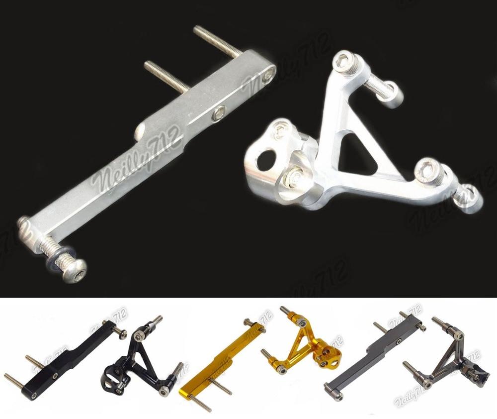 CNC Aluminium Steering Stabilizer Damper Mounting Bracket For HONDA CB1000R SC60 2008 2009 2010 2011 2012 2013 2014 2015 2016 cnc aluminium steering stabilizer damper mounting bracket for suzuki gsxr1000 gsxr 1000 k7 2007 2008