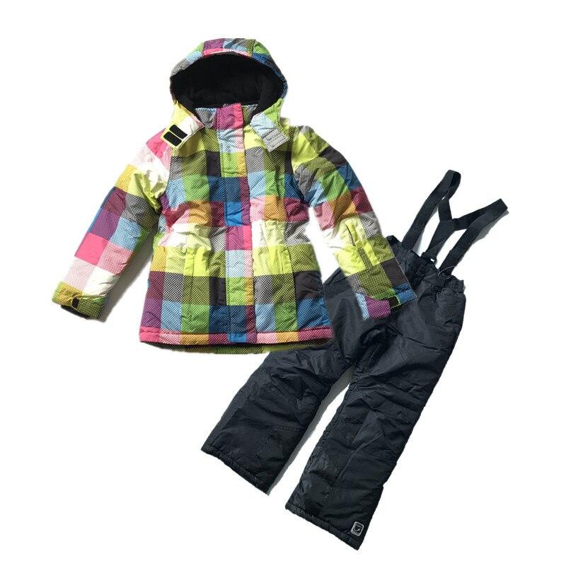 Sale !Children 's ski suit suit foreign trade of the original single - padded winter coat thicker plus warm Jackets резиновые сапоги детские foreign trade children s shoes