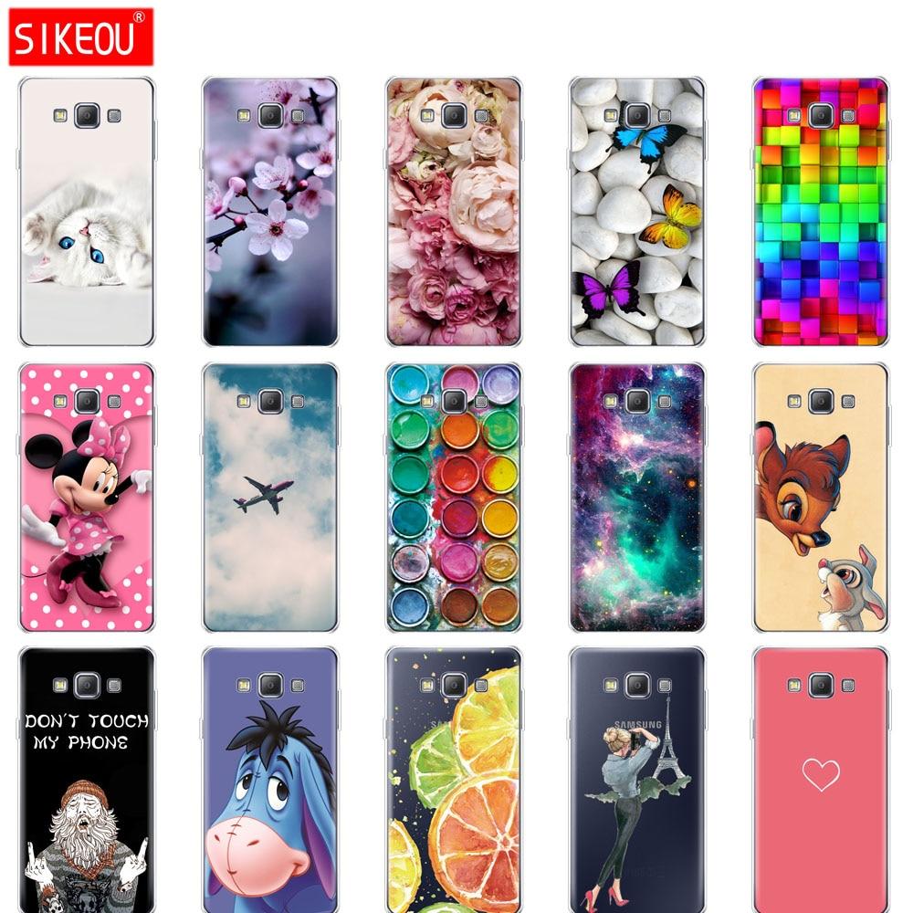 Silicone Case For Samsung Galaxy A3 A5 A7 2015 2016 2017 Case Cover A500 A510 A520 A300 A310 A320 A700 A710 A720 Coqa