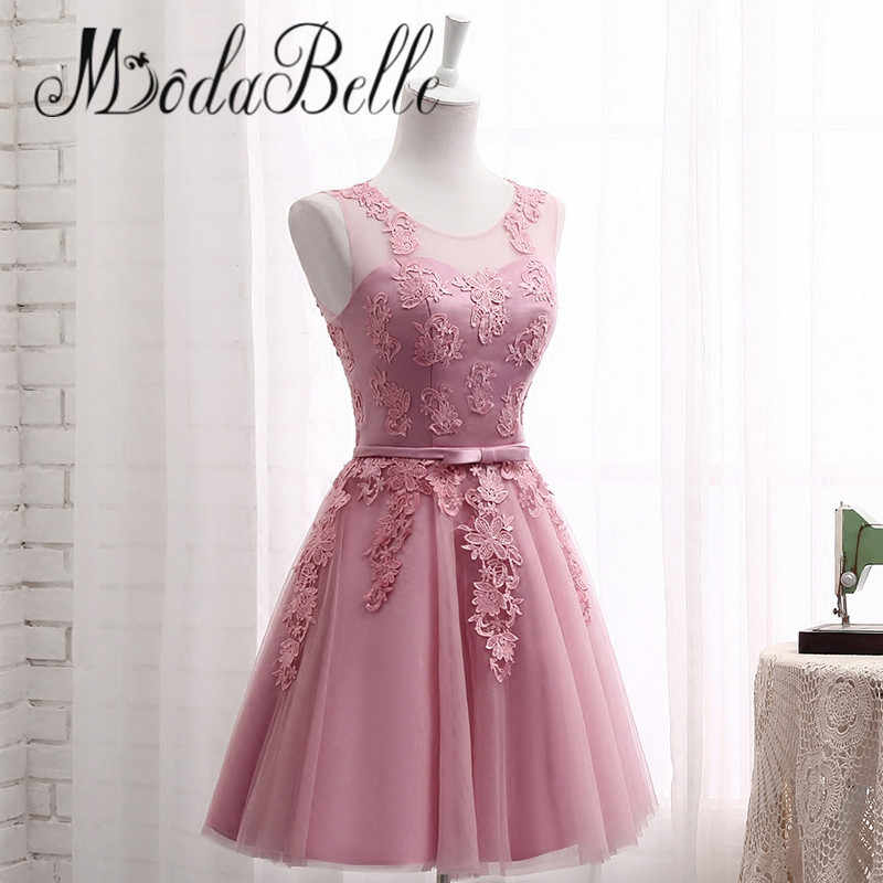 3394d5e2fad ... modabelle Lace Dusty Pink Bridesmaid Dresses For Wedding Cheap  Demoiselle D honneur Long Formal Dress