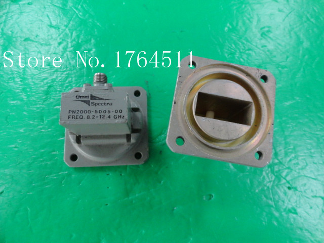 [BELLA] OMNI SPECTRA 2000-5005-00 8.2-12.4GHZ SMA Waveguide Connector Joint