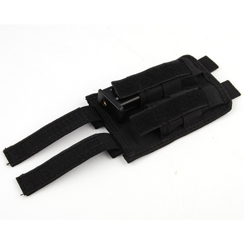 600D Molle Double Pistol Magazine Pouch to Tactical Vest Belt Utility Dump Bag CS Game Airsoft Military Army Accessories Holder