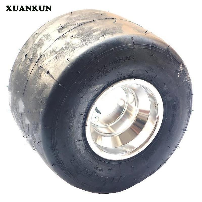 XUANKUN modifié dérive athlétique trois tours quatre Kart rond 5 pouces pneus roue 11*7.10-5 pouces pneus usure