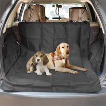 Dog Car Seat Cover Thick Waterproof Carrier For Dog Car Rear Back Trunk Cushion  Seat Cover Pad  Mat Blanket