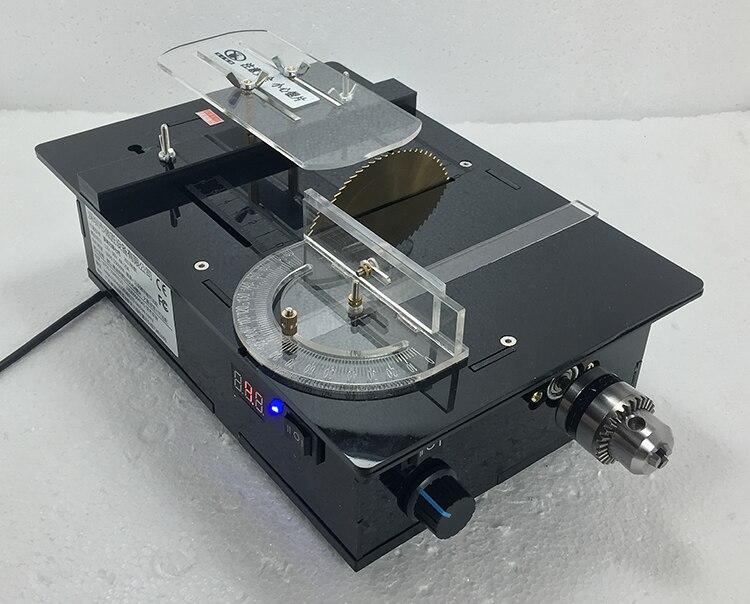 Mini Saw DIY Multi function / Micro Precision Small Table Saw /diy Model Chainsaw /PCB Cutting Machine