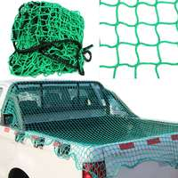200cm X 300cm Heavy Duty Cargo Net Pickup Truck Trailer Dumpster Extend Mesh Covers Roof Luggage