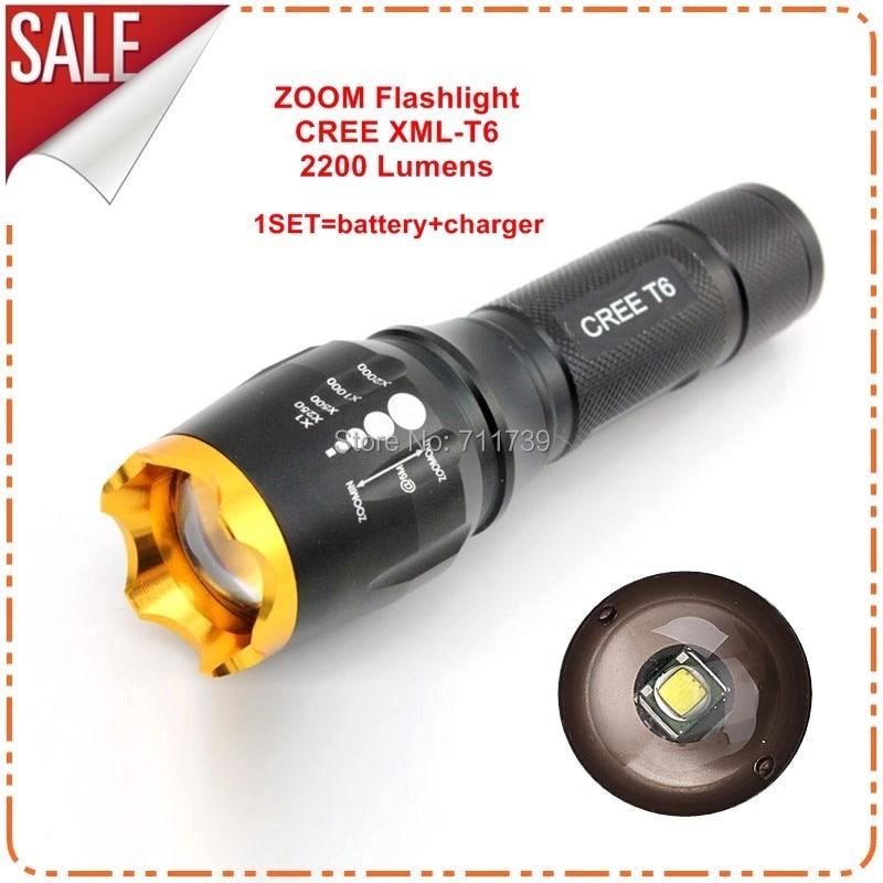LED flashlight Portable Lighting lanterna led light CREE XM-L T6 Flashlight Hunter Finder Torch Indoor Outdoor night light-H240 andis ionica машинка для стрижки волос