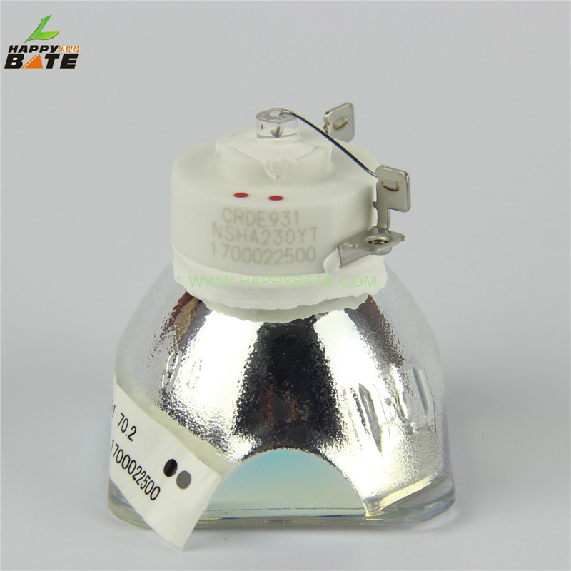 HAPPYBATE NP14LP/ 60002852 Original Projector bare Lamp for Projector NP305 NP310 NP405 NP410 NP510 NP510G/NP410G sekond original ushio bulb np14lp 60002852 projector lamp with housing for nec np410 np510 np310 np410 np405 np410g