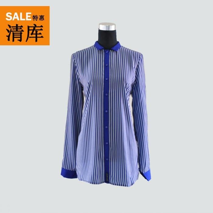 307086b529b4 Cop. copine printemps et automne à manches longues chemise chemise  décontractée patchwork LS3046 bars