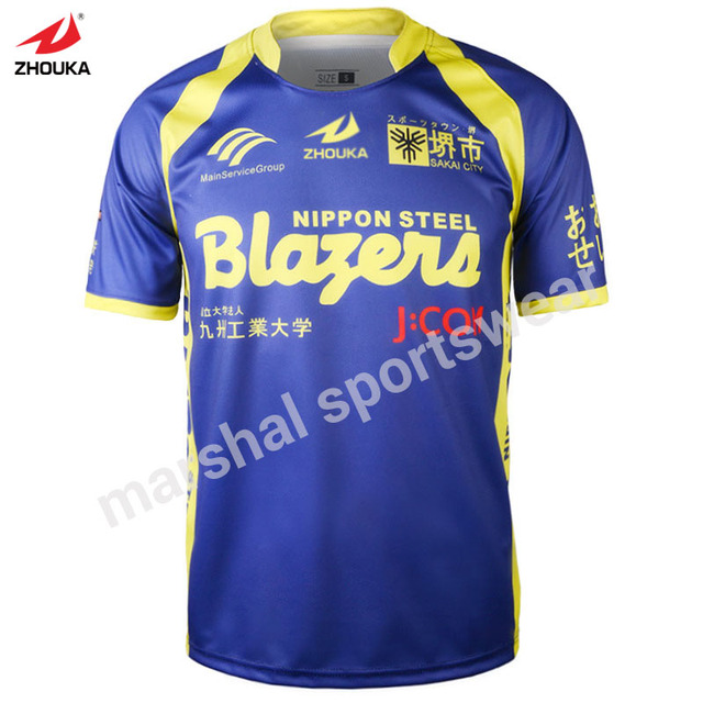 fc6ade9e8ee China top quality sublimation custom soccer t shirt 100%polyester factory  price new design soccer jersey t- shirt free shipping