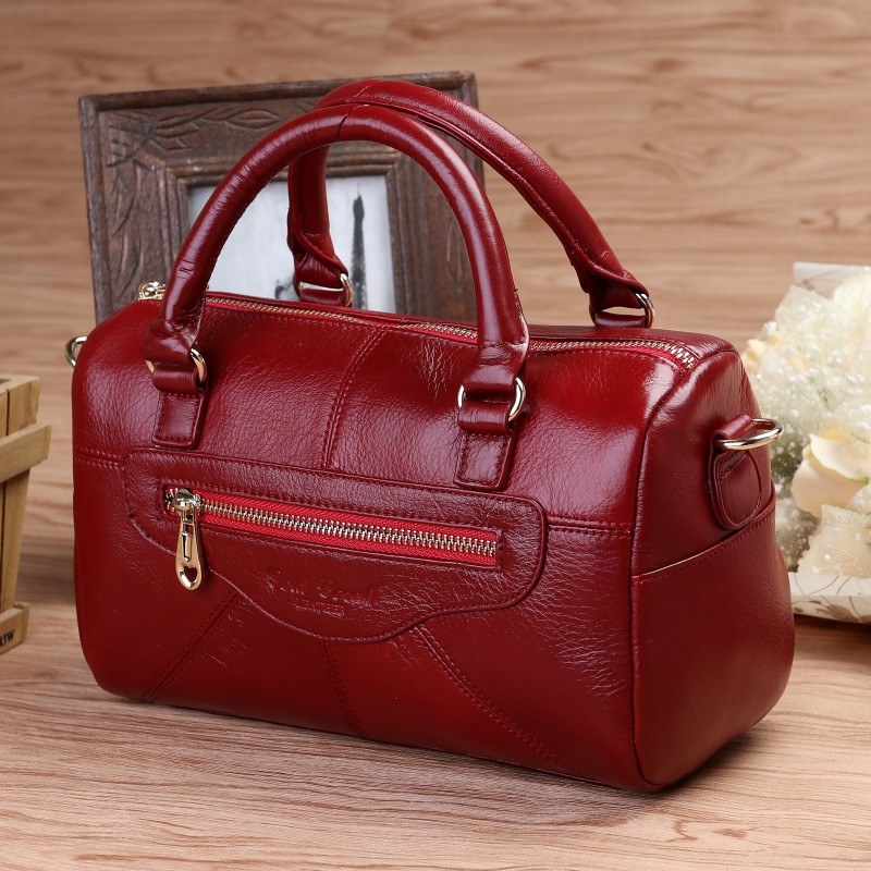 Vintage Women Genuine Leather Handbags Fashion Brand Cow Leather Messenger Shoulder Bags Bolsas Feminina High Quality Tote Bag tm chocolatte крем для лица суфле крем брюле 50 мл