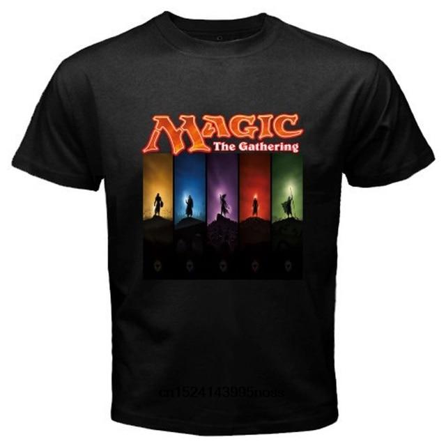 bfdd367a Funny Men t shirt white t-shirt tshirts Black tee Magic The Gathering  Trading Card Game Men's Black T-Shirt