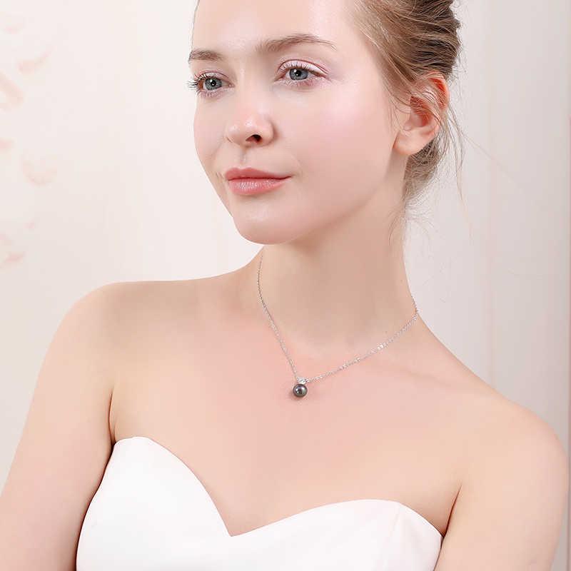 DMPFP2400 prawdziwa perła słodkowodna wisiorki 8-9mmAAAA naszyjnik dla kobiet hurtownia małych rozmiarów perła naturalna
