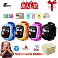 2018 Best Baby Smart Watch for Children Q90 Kids Smart watch GPS WIFI Location Tracker Child GPS Watch Phone Touch Screen Clock