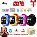 2018 beste Baby Smart Uhr für Kinder Q90 Kinder Smart uhr GPS WIFI Lage Tracker Kind GPS Uhr Telefon Touch bildschirm Uhr-in Smart Watches aus Verbraucherelektronik bei
