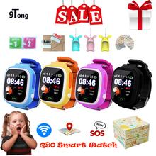 2018 najlepiej smart watch dla dziecka dla dzieci Q90 dla dzieci smartwatch GPS WIFI lokalizacja Tracker dziecko zegarek GPS ekran dotykowy zegar tanie tanio Budzik Uśpienia tracker Pilot zdalnego sterowania Odpowiedź połączeń Tydzień 24 godzin instrukcji Tracker fitness