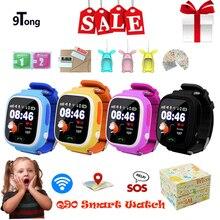 GPS Location Tracker Smart Watch for Kids Children Q90 SOS Phone Fitness Sleep Pedometer Tracking Screen
