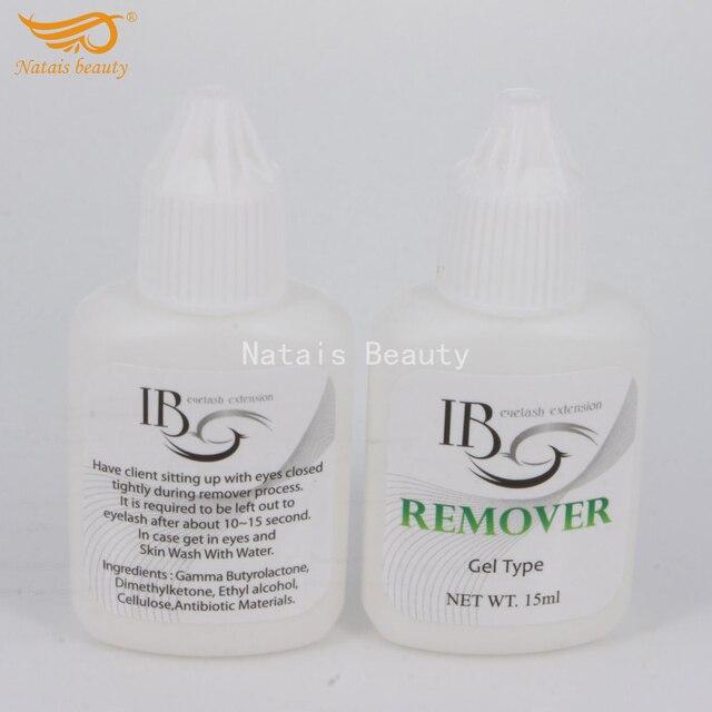 5 butelek/lot I piękno Remover profesjonalne rzęsy środek do usuwania kleju klej Debonder rodzaj żelu