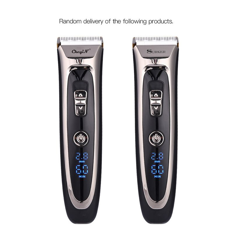 Image 5 - Powerful professional hair clipper men hair trimmer beard trimer electric cutter hair cutting machine haircut barber tool P37-in Hair Trimmers from Home Appliances