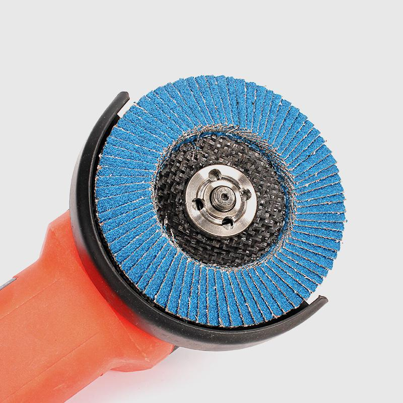 1 Angle Grinder Wheels Blue Zirconium Oxide 100mm Flap Sanding Abrasive Discs Bore 80 Grit 16mm Hole Size Tools