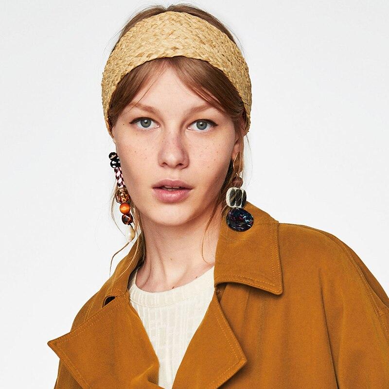 Dvacaman Rhinestone Drop Earrings Jewelry Earrings Women Bohemian Long Dangle Earrings Wedding Metal Earrings Dropshipping ZZ62