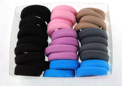 TS061Fashion!!!Hot!!! Colors Elastic Hair Band Jewelry Wholesale High-quality AAA!!! 30PCS/Box Mixed Order Colors