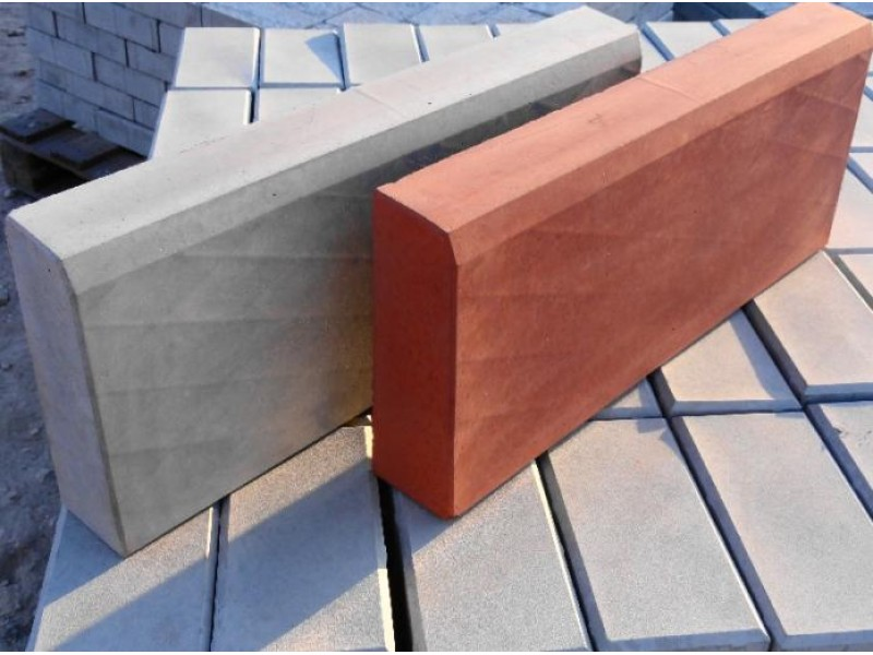 Plastic molds for concrete Border stone for garden Border stone big Plaster Stone Tiles Hard ABS