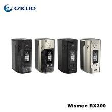 Оригинальный wismec reuleaux RX300 mod reuleaux RX 300 Вт 18650 коробка mod RX300 новые VAPE сигареты e mod VAPE RX300W цена вниз