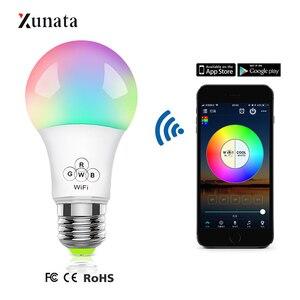 XUNATA WiFi Smart Light Bulb D