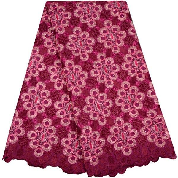 Schöne Schweizer Voile Spitze 2018 Afrikanische Voile Schweizer Spitze Stoff Afrikanische Schweizer Baumwolle Voile Spitze Stoff Für Kleiden 983
