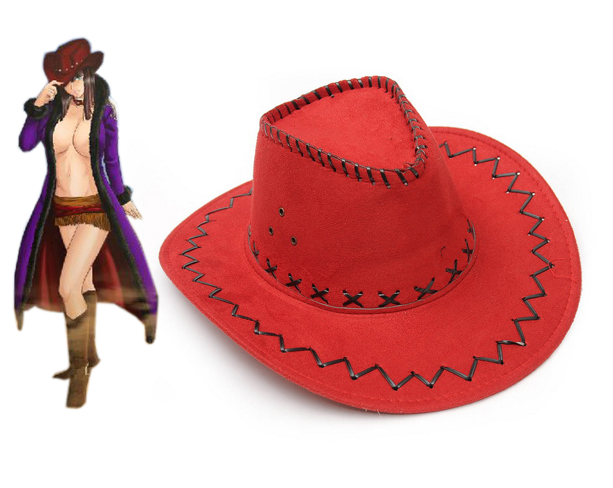 Red Nico Robin One Piece Hats