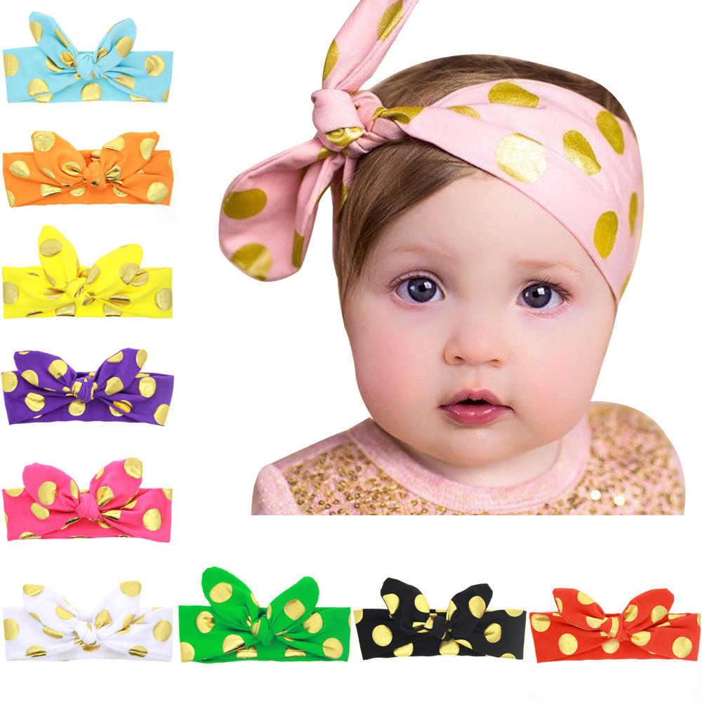 Baby girl ヘッドバンド幼児ヘアアクセサリー布ネクタイ弓ターバン新生児ティアラ headwrap ギフト幼児包帯リボン帽子