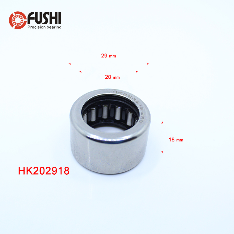 HK202918 RS Bearing Size 20 x 29 x 18 mm ( 5 PCS) Drawn Cup Caged Needle Roller Bearings HK202918RS With Open End HKSHK202918 RS Bearing Size 20 x 29 x 18 mm ( 5 PCS) Drawn Cup Caged Needle Roller Bearings HK202918RS With Open End HKS