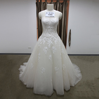 2016 Nueva Tapa Del Tubo Del Vendaje Correa Cristalina de Lujo Vestido de Novia 2016 vestido de novia vestidos de novia vestido de noiva Robe De Mariage