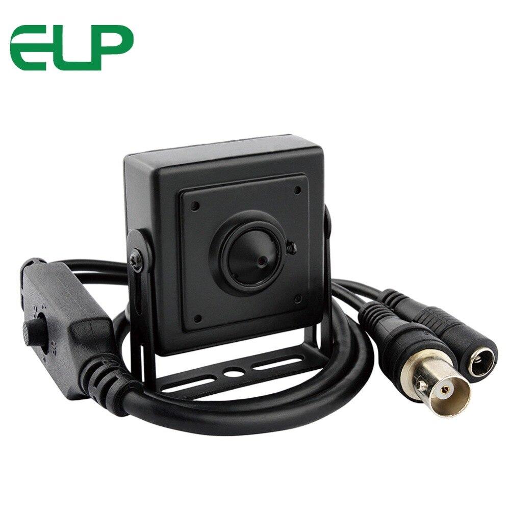 AHD Analog High Definition Surveillance Camera 1.3MP 960P AHD mini box CCTV Camera Security indoor
