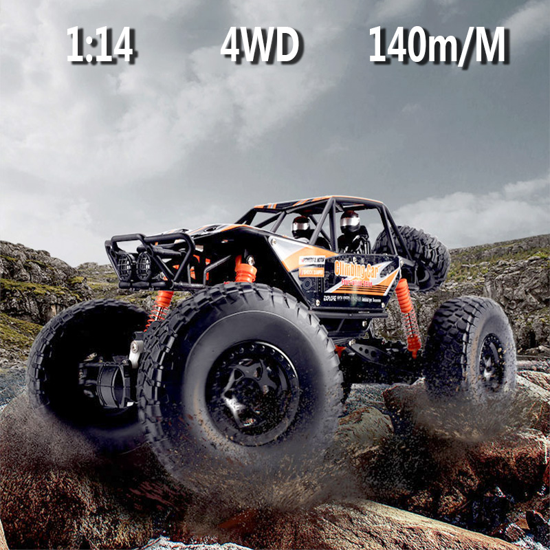 LOZ RC coche 2,4g escala 1:14 Rock Crawler coche supersónico monstruo camión vehículo Off-Road Buggy juguete electrónico rc Coche