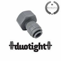 """Duotight 8mm (5/16) empurre para 5/8 """"para atender acopladores de barril e shanks de torneira null Casa e Jardim -"""