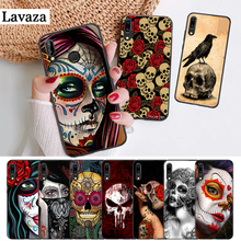 Lavaza Mexican Skull Girl tattooed Silicone Case for Huawei P8 Lite 2015 2017 P9 2016 Mimi P10 P20 Pro P Smart Z 2019 P30 сумка mexican a63 2015