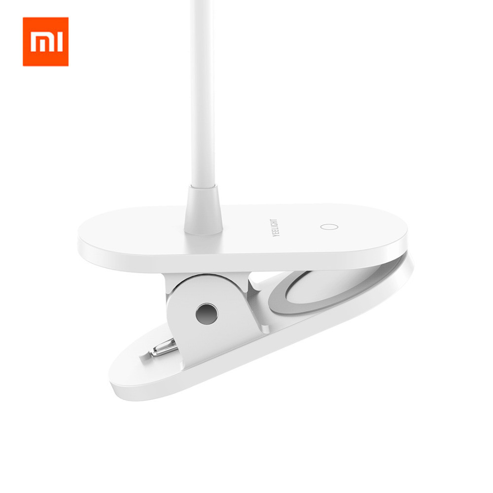 Image 3 - Xiaomi Yeelight LED Desk Lamp Clip On Night Light USB Rechargeable 5W 360 Degrees Adjustable Dimming Reading Lamp For Bedroom-in Smart Remote Control from Consumer Electronics