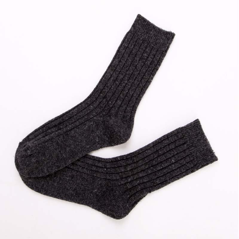 Men Socks Calcetines Hombre Free Shipping Mens Socks 5pairs/lot Rabbit And Wool High Quality Winter Keep Warm Thick Size 39-45