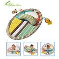 Esteira do Jogo do bebê Mat Mudança Destacável Infantil Toddlers Educação Precoce Brinquedos De Medição De Altura com Espelho de Segurança Travesseiro Navio Livre