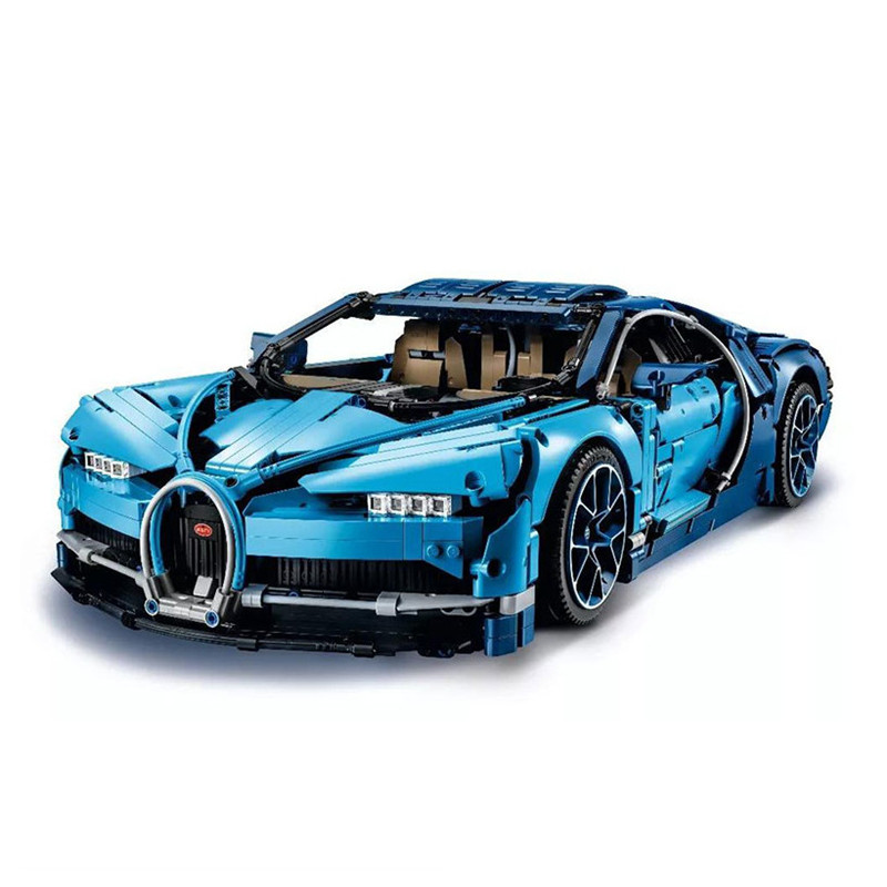 4031pcs Science Technic Blue Chiron Racing Car Building Blocks Toy Kit DIY Educational Children Gifts